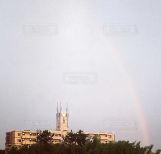 雨,綺麗,虹,雨上がり,虹色