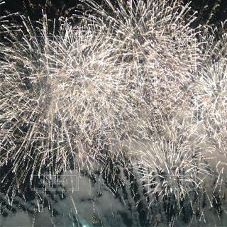 空に花火のグループの写真・画像素材[1310377]