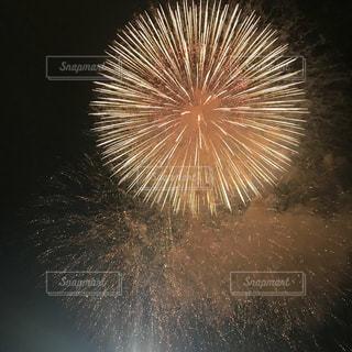 空に花火の写真・画像素材[1310379]