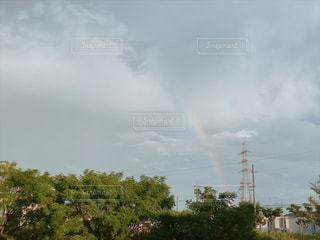 空に虹の写真・画像素材[1860848]