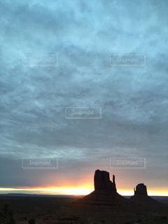 モニュメントバレーの写真・画像素材[793559]