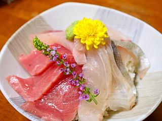 海鮮丼の写真・画像素材[1491445]