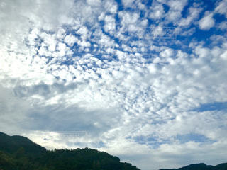 秋,車窓,うろこ雲,淡路島,高速バス
