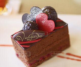 バレンタインケーキの写真・画像素材[1776404]