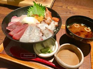 海鮮丼の写真・画像素材[2371388]