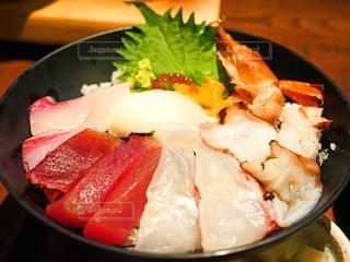 海鮮丼の写真・画像素材[2371993]