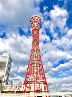 神戸ポートタワーの写真・画像素材[2423821]