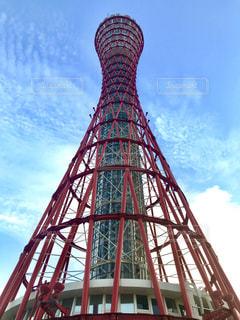 神戸ポートタワーの写真・画像素材[2434786]