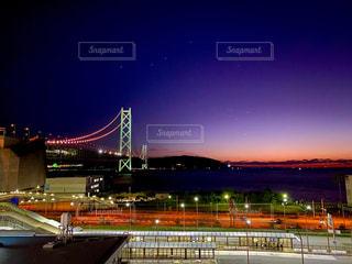 夜景の写真・画像素材[2742167]