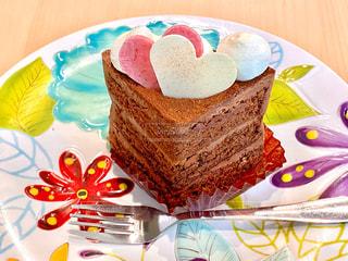 バレンタインケーキの写真・画像素材[2950357]