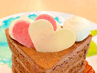 バレンタインケーキの写真・画像素材[2950366]