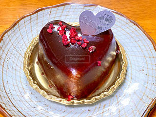 バレンタインケーキの写真・画像素材[2952988]