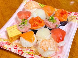 手まり寿司の写真・画像素材[2992768]