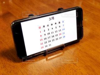 カレンダーの写真・画像素材[3012889]