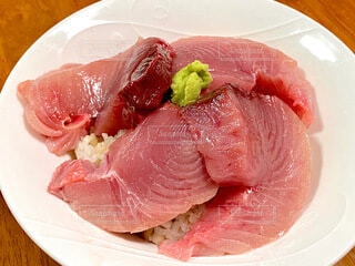 よこわ丼の写真・画像素材[3900868]