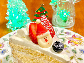 クリスマスケーキの写真・画像素材[4002803]
