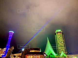 神戸の夜景の写真・画像素材[4065519]