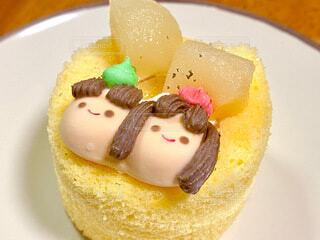 ひな祭りケーキの写真・画像素材[4208550]