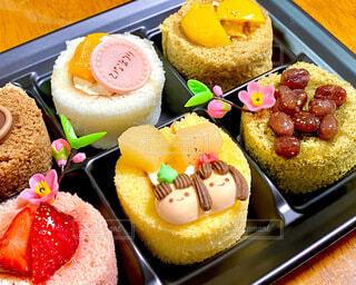 ひな祭りケーキの写真・画像素材[4208556]