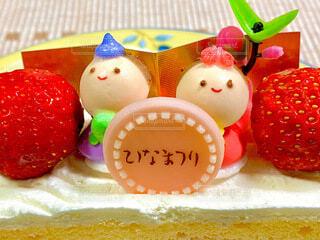 ひな祭りケーキの写真・画像素材[4213345]