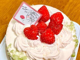 母の日ケーキの写真・画像素材[4400939]