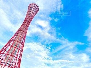 神戸ポートタワーの写真・画像素材[4631467]