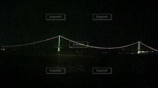 夜,橋,夜景,光,ライトアップ,明石海峡大橋,関西,兵庫県,つり橋,映像,動画,ビデオ,消灯,近畿地方,近畿,VIDEO,消灯シーン