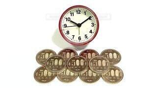 時計,お金,数字,素材,時間,コイン,小銭,貨幣,硬貨,現金,マネー,映像,動画,経済,クロック,MONEY,clock,タイムイズマネー,動画素材,映像素材,時間とお金,time is money
