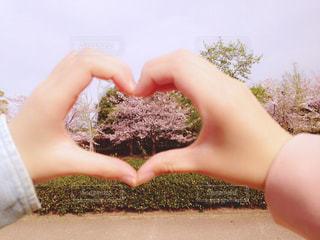 春,桜,ハート,友達,おしゃれ
