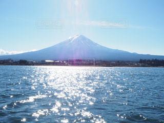晴れの日の富士の写真・画像素材[791100]