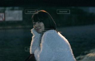 夜の散歩の写真・画像素材[875117]