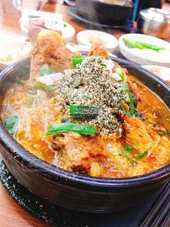 スープ,肉,料理,韓国,辛い,釜山,豚肉,達人,ヘジャンクッ