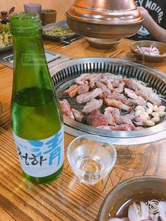 日本酒,肉,料理,韓国,焼肉,釜山,カモ肉,オンギチョン