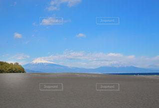 自然,空,富士山,雲,海岸,景色,観光,休日,富士,静岡県,日本の景色,天気いい,マウンテン富士