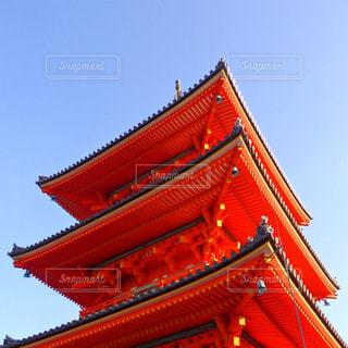 大きな赤い建物の写真・画像素材[772172]
