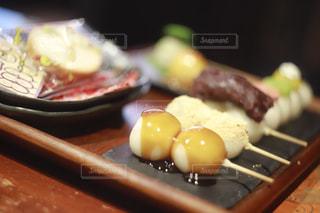 食べ物のトレイの写真・画像素材[2991667]