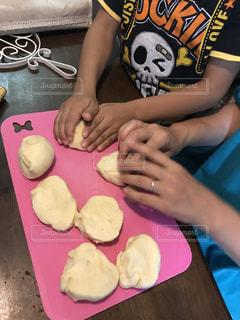 食事,料理,手作り,フライ,お手伝い,ミンチカツ,支度,ママと子供