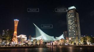 夜景,iphone,神戸,ポートタワー,メリケンパーク,海洋博物館