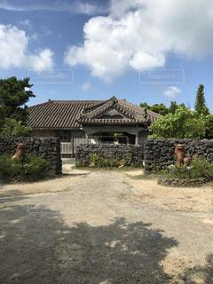 琉球の家。の写真・画像素材[688532]