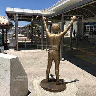 夏,沖縄,旅行,銅像,石垣島