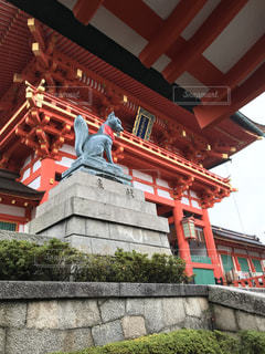 京都,観光,伏見稲荷大社,狐,手水舎,楼門