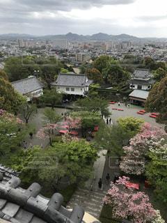 犬山城天守閣の景色