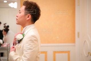 男性,結婚式,人物,ネクタイ,タキシード