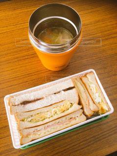 ランチ,スープ,サンドイッチ