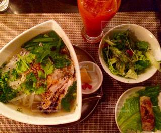 ランチ,レストラン,ベトナム,麺,フォー,ヘルシー,パクチー