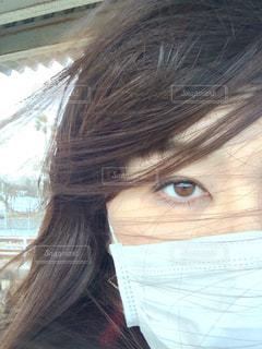 風吹いて風邪ひいたの写真・画像素材[2656596]