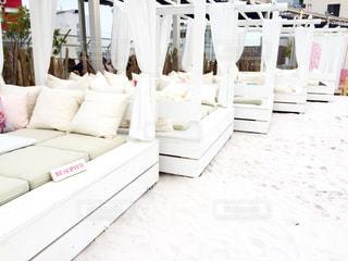その中に白い家具の写真・画像素材[779148]