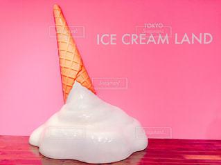 ソフトクリームの写真・画像素材[1444049]