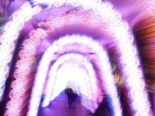 ピンク,イルミネーション,トンネル,pink,東京ドームシティ