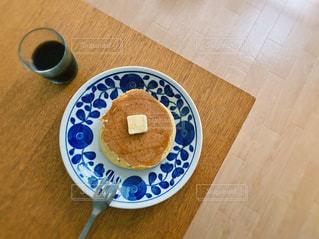 ホットケーキと珈琲の写真・画像素材[3272958]